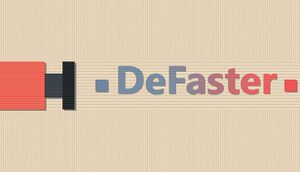 DeFaster cover