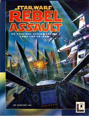 Star Wars: Rebel Assault cover