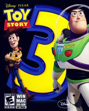 Toy Story 3: The Video Game cover