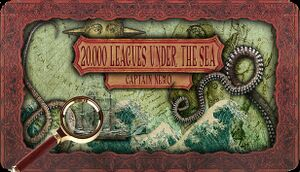 20.000 Leagues Under the Sea - Captain Nemo cover
