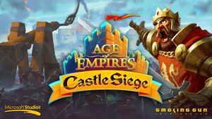 Age of Empires: Castle Siege cover