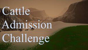 Cattle Admission Challenge cover