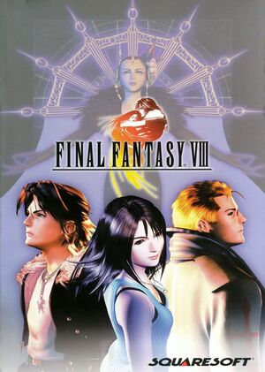 Final Fantasy VIII cover
