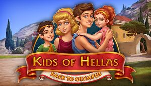 Kids of Hellas: Back to Olympus cover