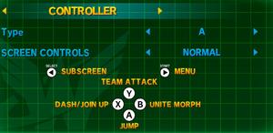 Controller config