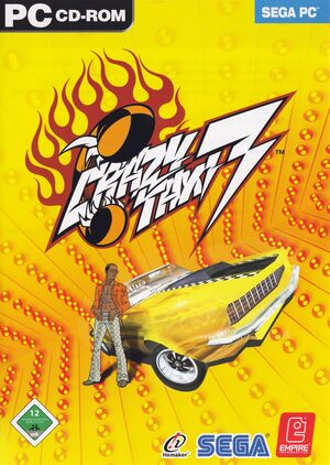 Crazy Taxi 3: High Roller cover