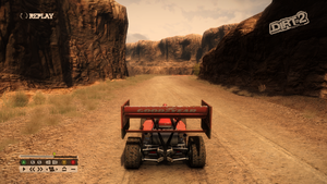 Default chase (close) camera and FOV.