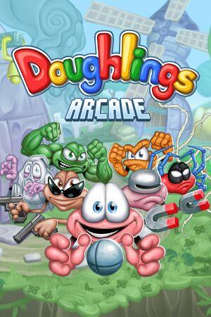 Doughlings: Arcade cover