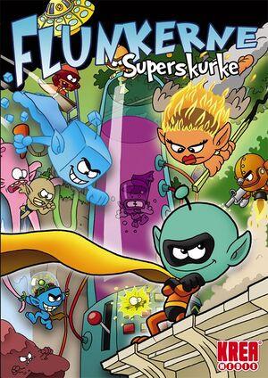 Flunkerne: Superskurke cover