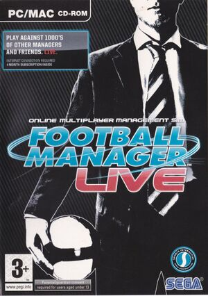 Football Manager Live cover