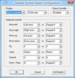 External configuration tool