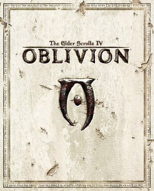 The Elder Scrolls IV: Oblivion cover