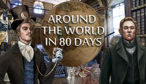 Hidden Object: Around the World in 80 Days cover