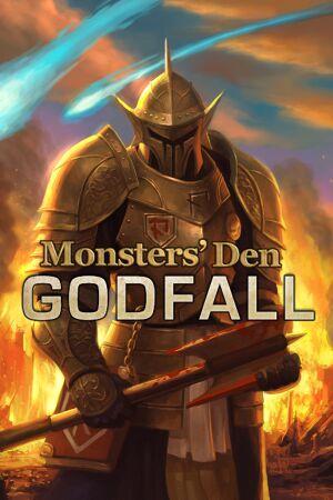 Monsters' Den: Godfall cover