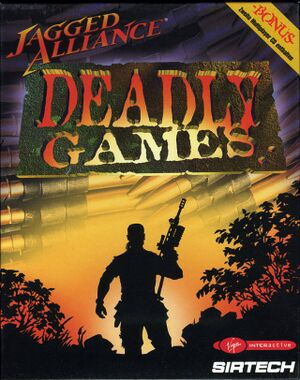 Jagged Alliance: Deadly Games cover