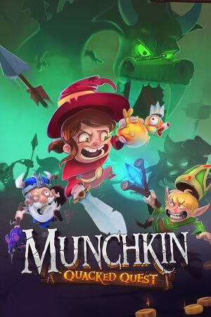 Munchkin: Quacked Quest cover