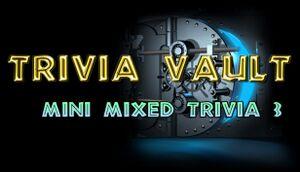 Trivia Vault: Mini Mixed Trivia 3 cover