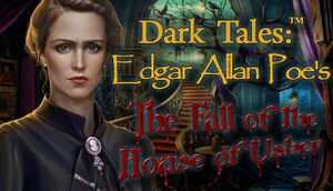 Dark Tales: Edgar Allan Poe's The Fall of the House of Usher cover