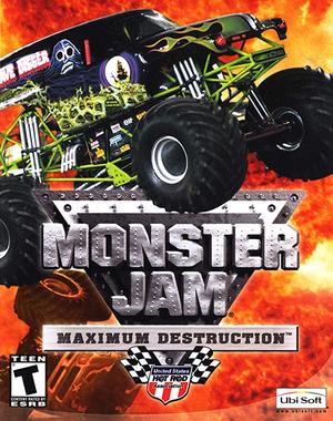 Monster Jam: Maximum Destruction cover