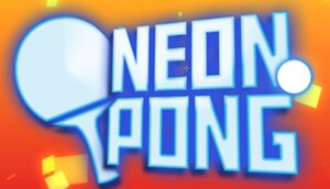 Neon Pong cover