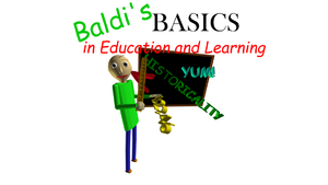 Baldi's Basics in Education & Learning cover
