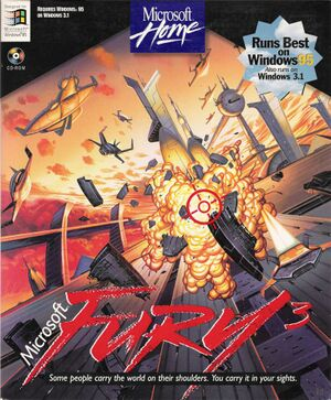 Fury3 cover