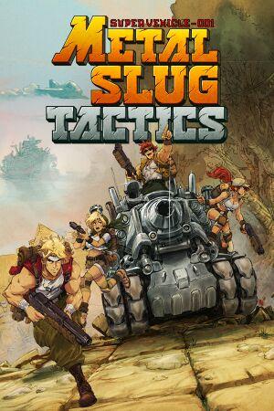 Metal Slug Tactics cover