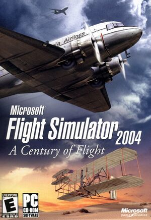 Microsoft Flight Simulator 2004: A Century of Flight cover