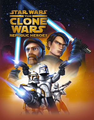 Star Wars: The Clone Wars - Republic Heroes cover