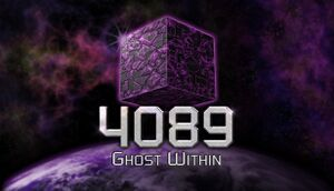 4089: Ghost Within cover