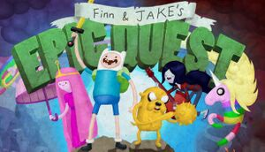Adventure Time: Finn and Jake's Epic Quest cover