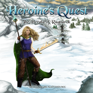 Heroine's Quest: The Herald of Ragnarok cover
