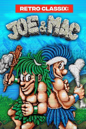 Retro Classix:Joe & Mac: Caveman Ninja cover