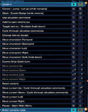 Key configuration settings