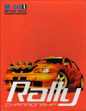 Mobil 1 Rally Championship cover