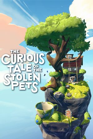 The Curious Tale of the Stolen Pets cover