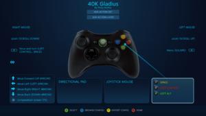 Official Steam Input preset (Xbox controller)
