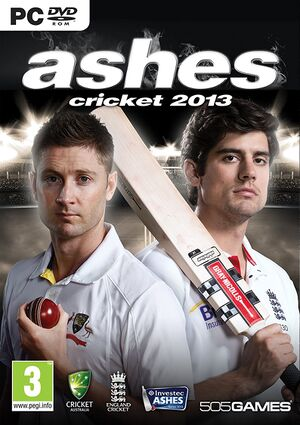 Ashes Cricket 2013 cover.jpg