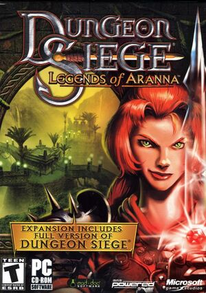 Dungeon Siege: Legends of Aranna cover