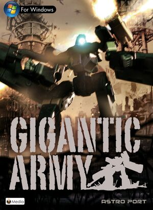 GIGANTIC ARMY cover