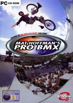 Mat Hoffman's Pro BMX cover