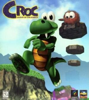 Croc: Legend of the Gobbos cover