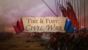 Fire and Fury: English Civil War cover