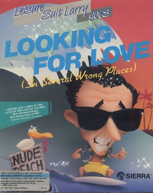 Leisure Suit Larry Goes Looking for Love (in Several Wrong Places) cover