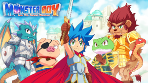 Monster Boy and the Cursed Kingdom cover