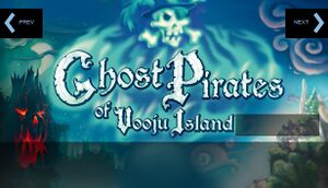 Ghost Pirates of Vooju Island cover