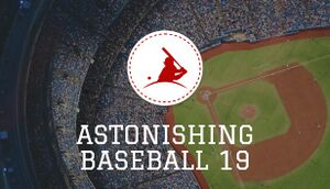 Astonishing Baseball 2019 cover