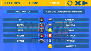Controller remapping from external configuration tool.