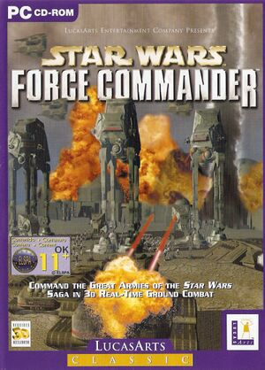Star Wars: Force Commander cover