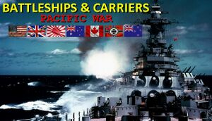 Battleships and Carriers - Pacific War cover